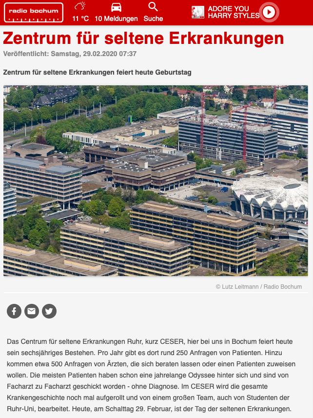 CeSER im Radio Bochum